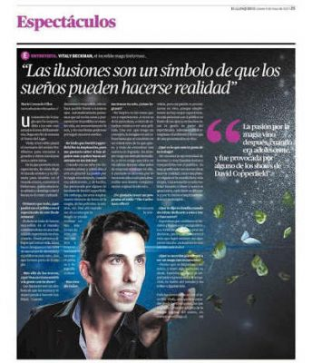 Chilean Newspaper Feature